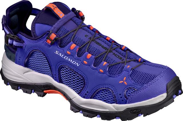 Salomon W's Techamphibian 3 Shoes spectrum blå/baja blå/flame blå/flame blå/flame 04630f